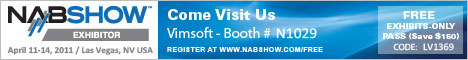 Free NAB Pass from Vimsoft
