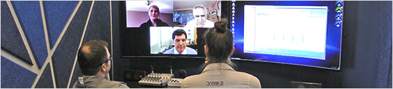 Customer video conference