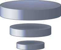 Vimsoft Logo - Server Discs